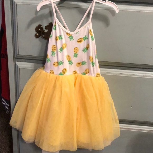 3631783dbafb4 Well-liked Old Navy Dresses | Girls Pineapple Tutu Dress | Poshmark XL54